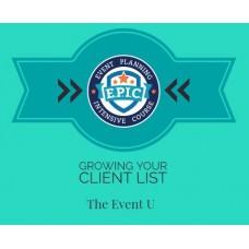 Growing Your Client List - M2